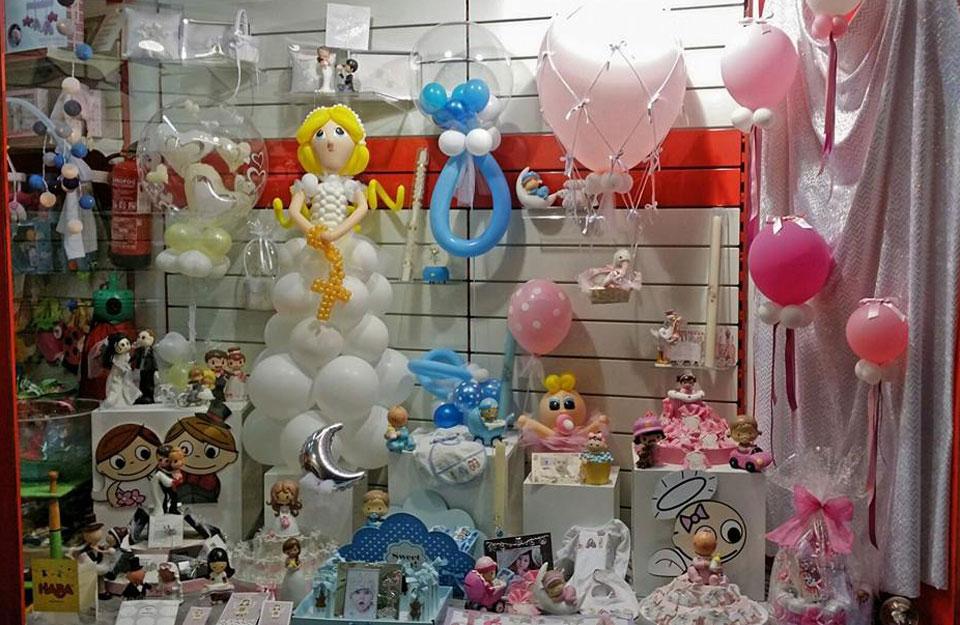Decoraci n profesional en globos para aniversaios - Decoracion navidena para negocios ...