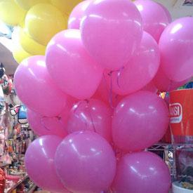 Decoración profesional en globos para aniversaios